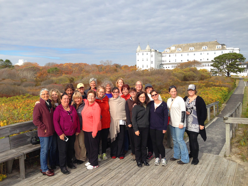 Retreat Participants - Lymethriving retreat Maine 2014