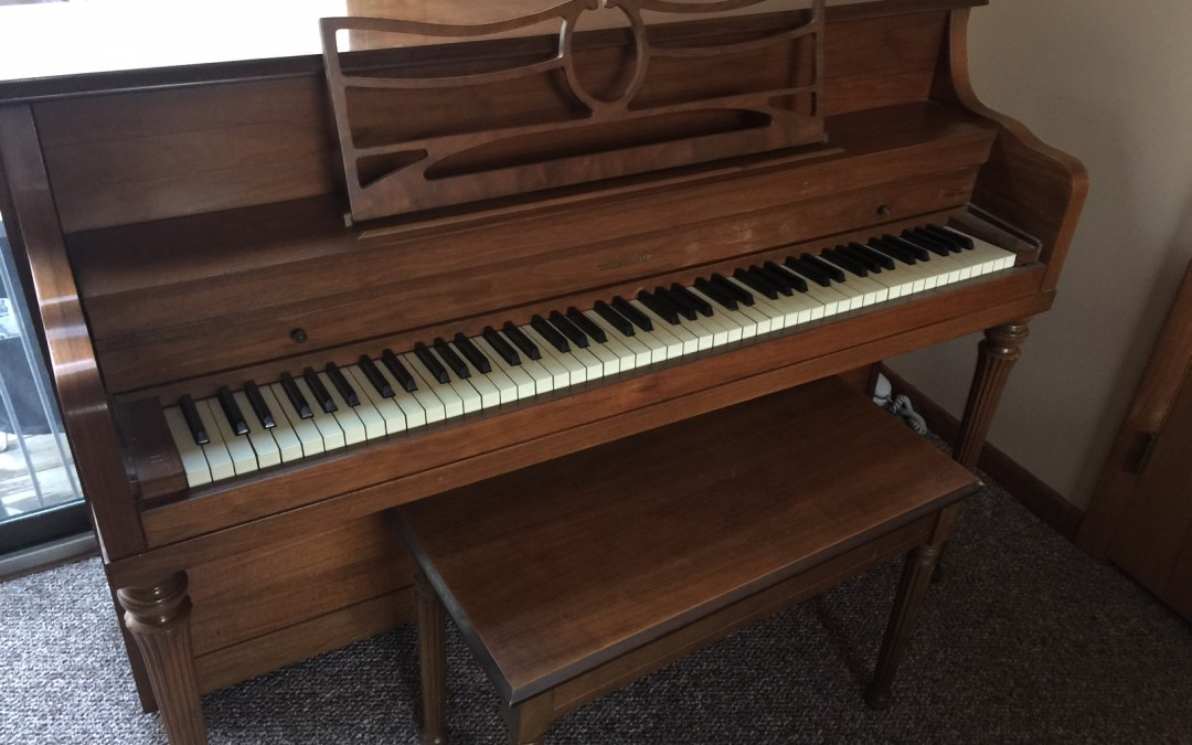 An Old Piano and a New Lesson